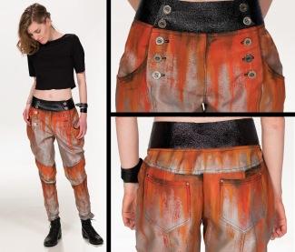 Rust pants